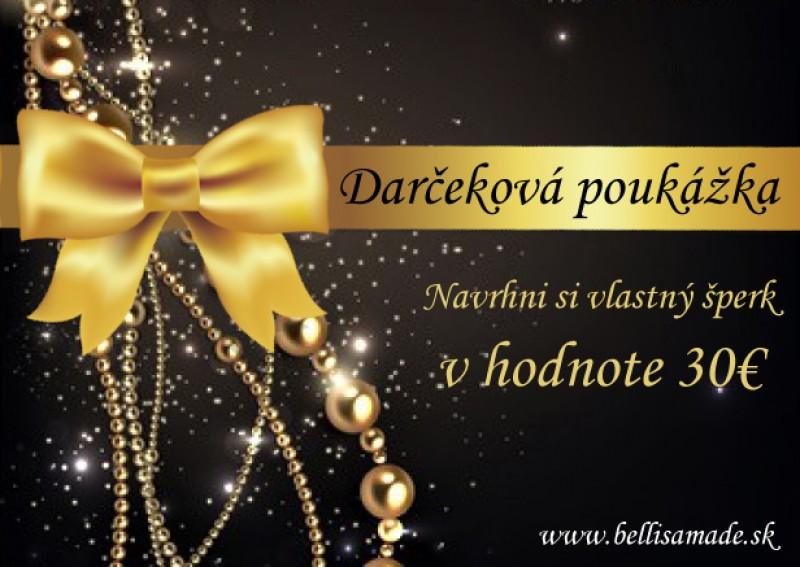 Vianočná poukážka 30 eur